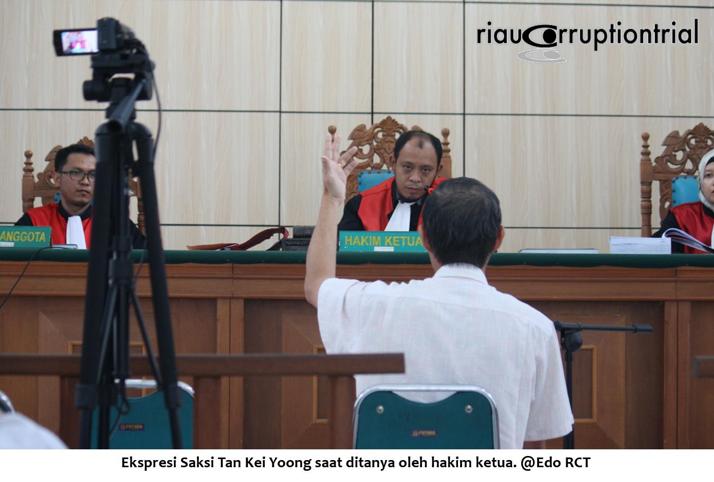 Ekspresi saksi tan Kei yoong