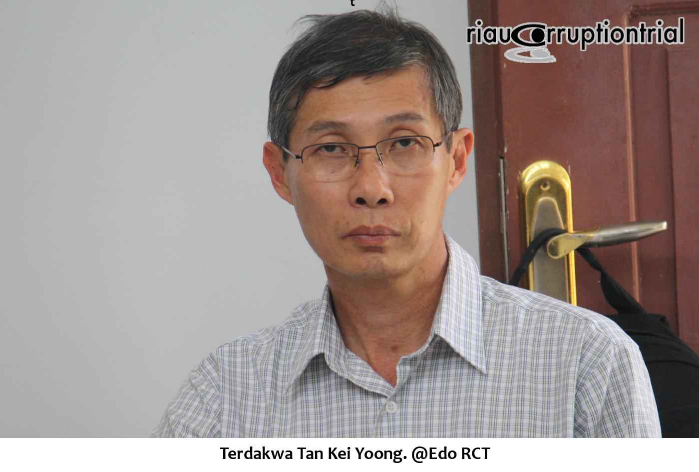Terdakwa Tan Kei Yoong