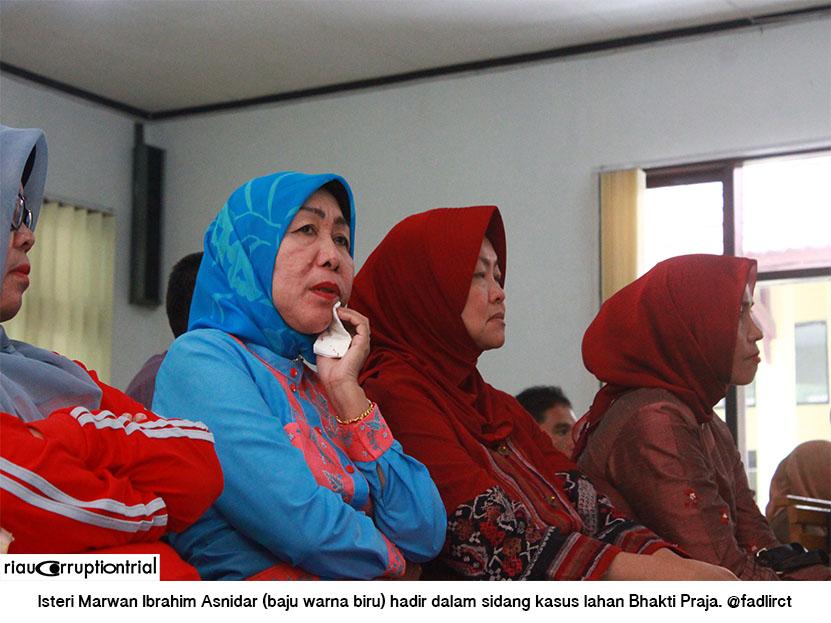 Wakil Bupati Pelalawan Didakwa Korupsi Lahan Di Pelalawan