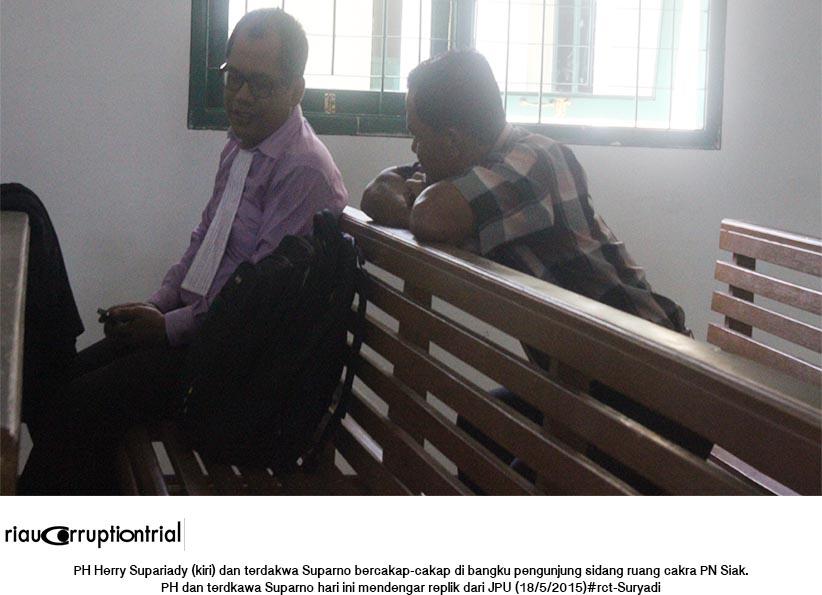 PH Herry dan terdakwa Suparno