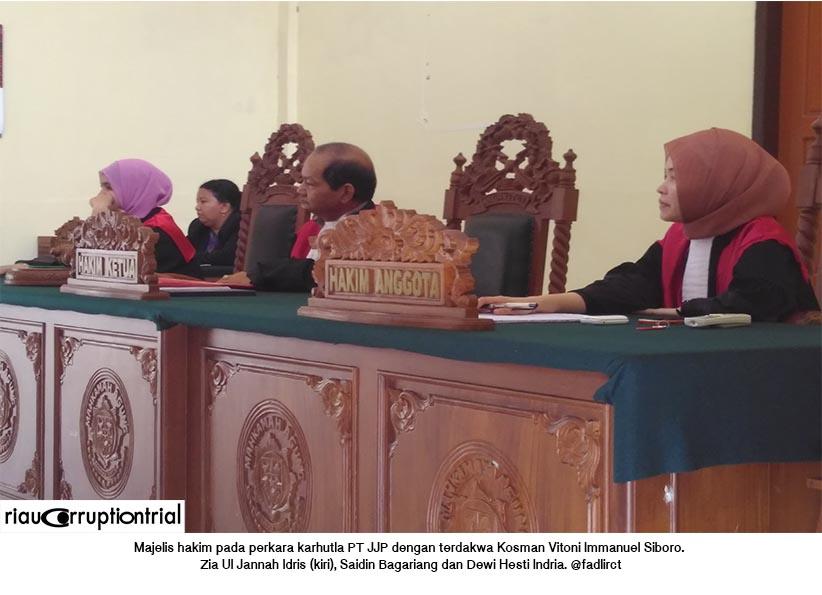 majelis hakim pt jjp 24 juni 2015
