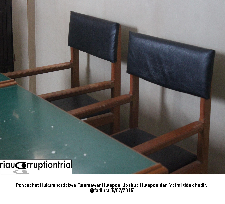 PH Terdakwa tidak hadir 6 juli 2015