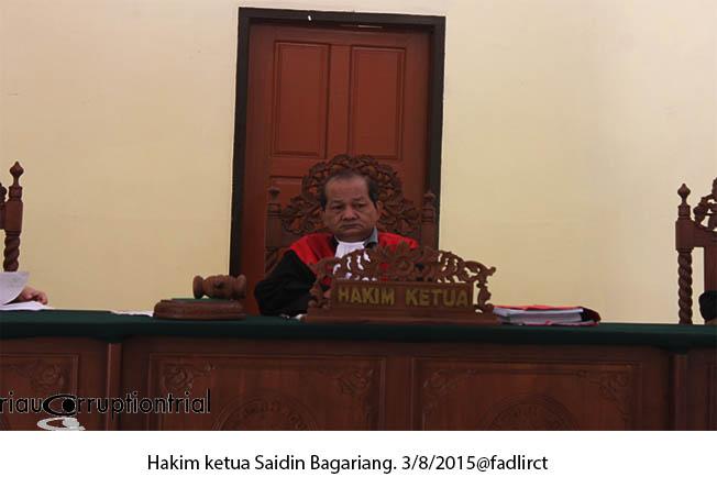 hakim saisin 3 Agustus 2015