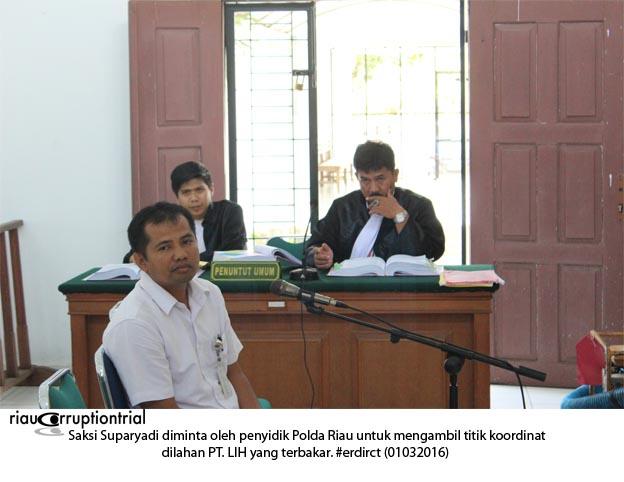 saksi Suparyadi. 01-032016