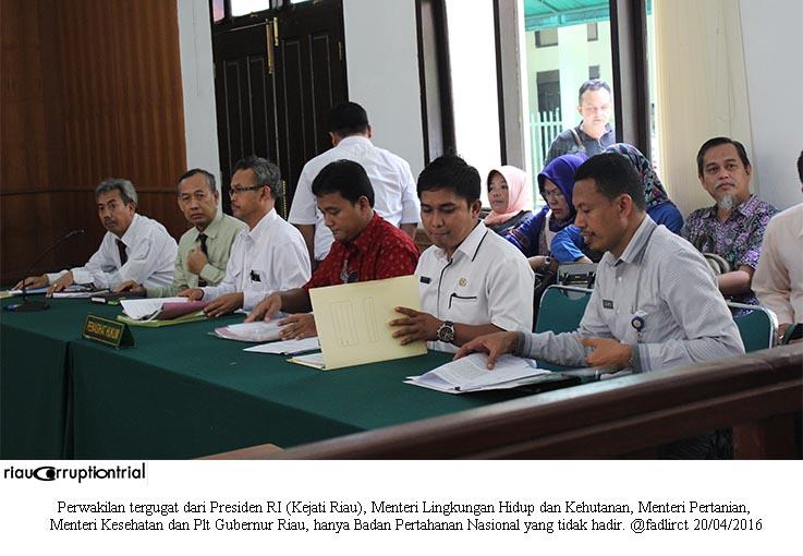 perwakilan tergugat cls 20 april 2016