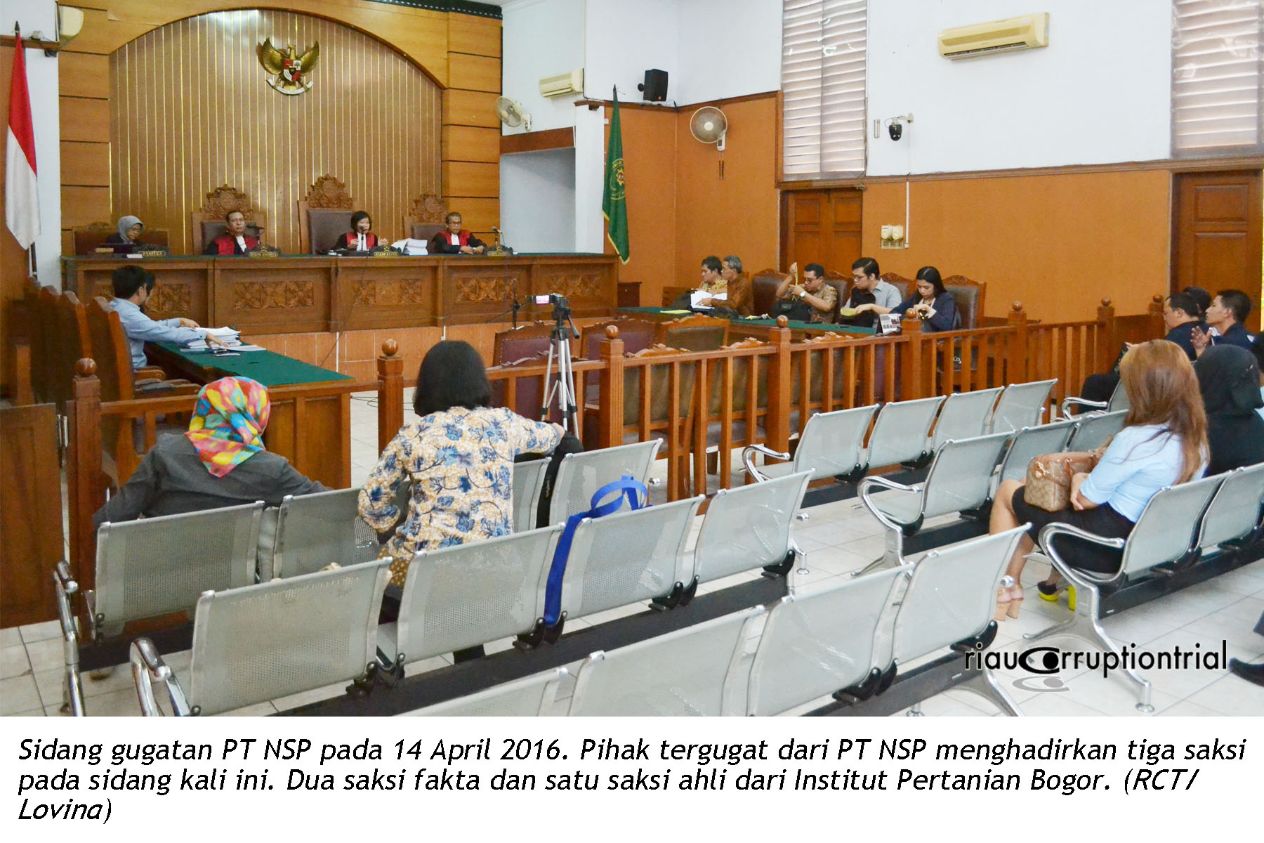 sidang NSP 14 April
