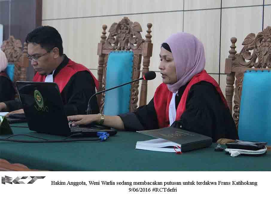 Hakim Anggota Weni Warlia 9Juni2016