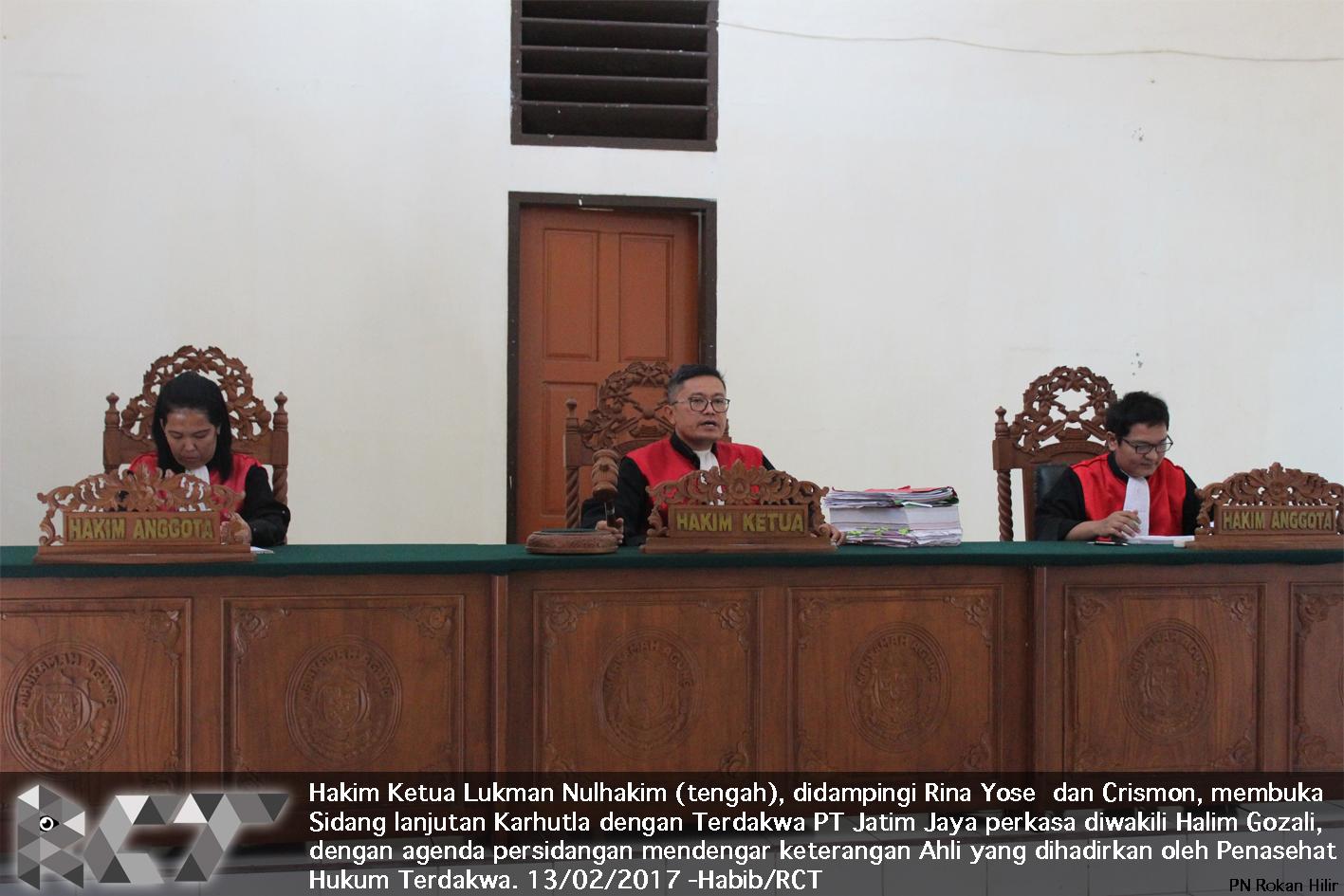Majelis Hakim 13-2-2017